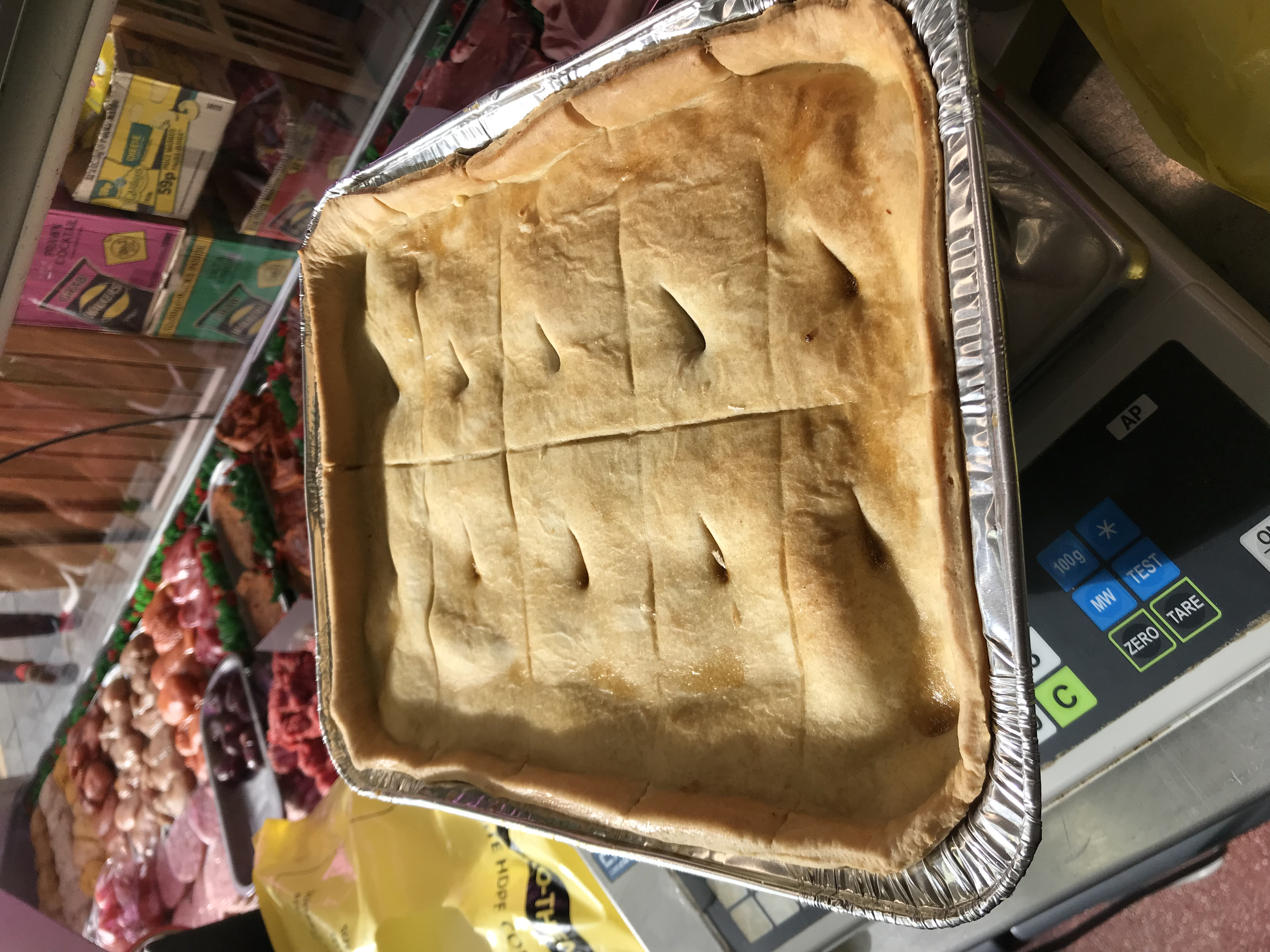 Party size meat n potato pie - DH Lees