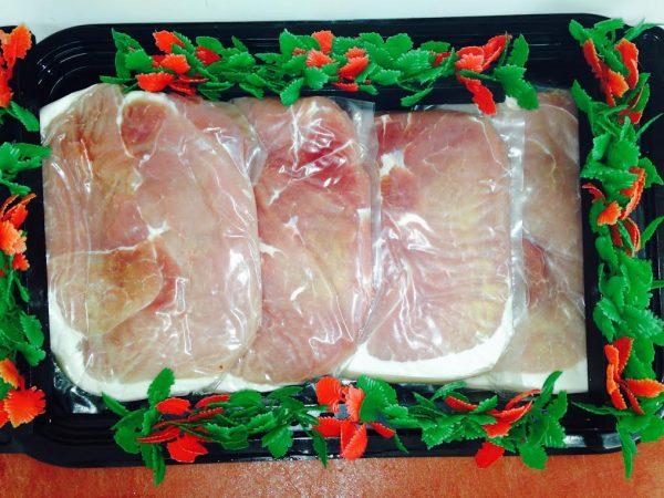 5lb Packets of Gammon Steak
