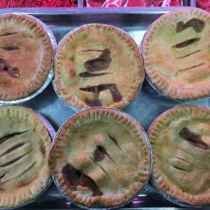 Chicken n mushroom pies 4 for £5