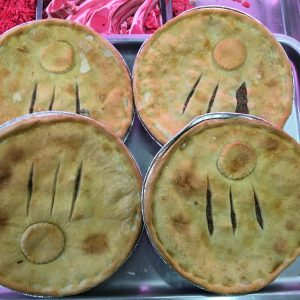 Large steak n kidney pies